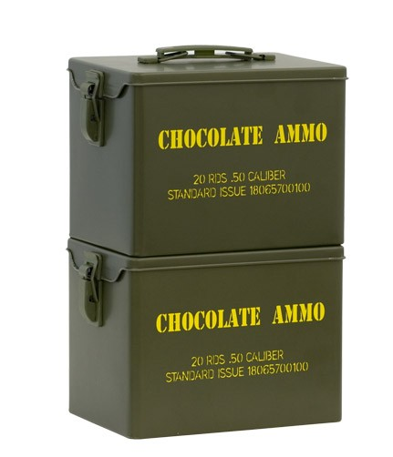 Military tins stackable