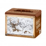 Collectible Whitetail Deer Tin - Empty
