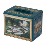 Collectible Vintage Fishing Tin - Empty