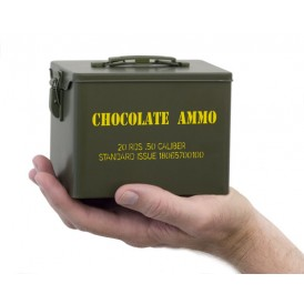 Chocolate Bullet-Military Style Tin
