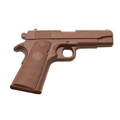 Solid Chocolate Handgun