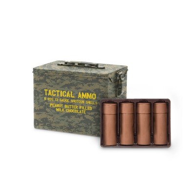 Tactical Ammo Chocolate Shotgun Shells