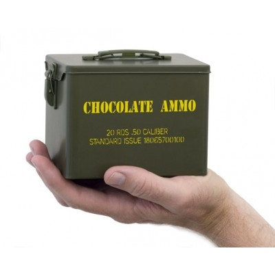 SOLD OUT - Chocolate Bullet-Military Style Tin - Single Tin