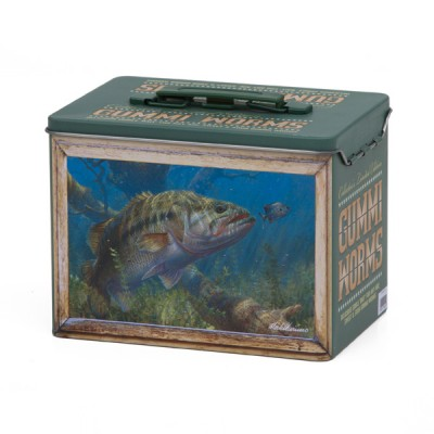 Bass Fishing Collector Tin - Empty
