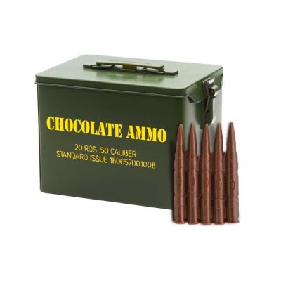Chocolate Bullet-Military Style Tin - 2 pack